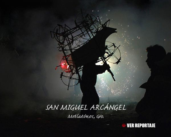Fiesta de San Miguel Arcángel en Metlatónoc