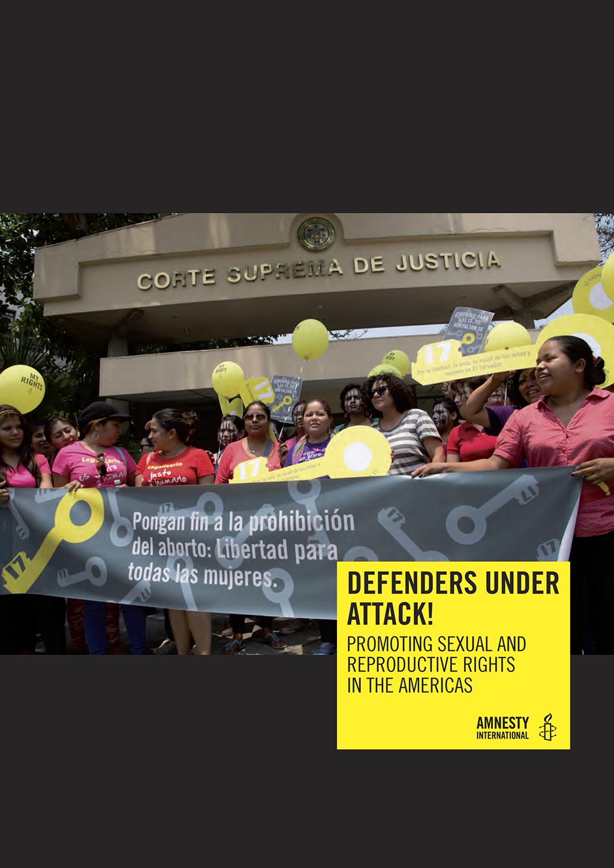 Defensoras de derechos sexuales y reproductivos