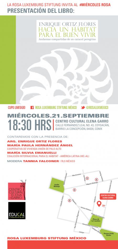 Presentación del Libro: Enrique Ortiz Flores, Hacia un hábitat para el Buen Vivir