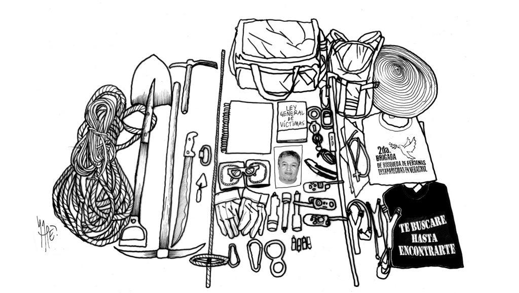 BUSCADORES (ilustración: Rapé / Pie de Página)