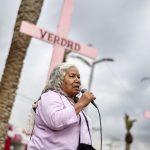 Protesta contra feminicidios en Neza