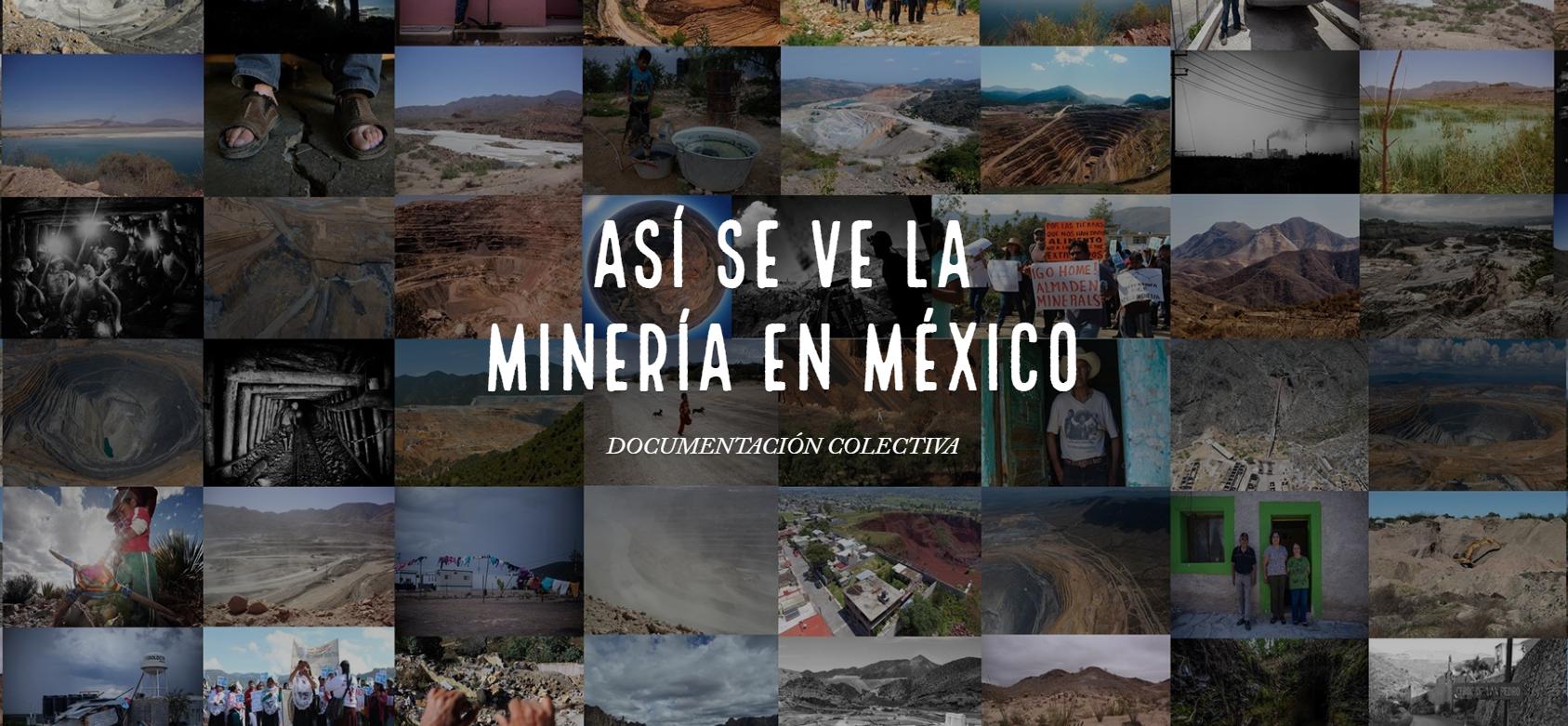"""Presentan organizaciones la Documentación Colectiva """"Así se ve la minería en México"""""""